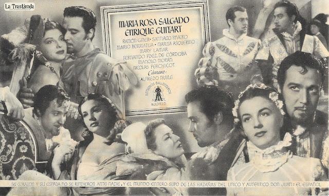 Don Juan - Programa de Cine - Antonio Vilar - Annabella
