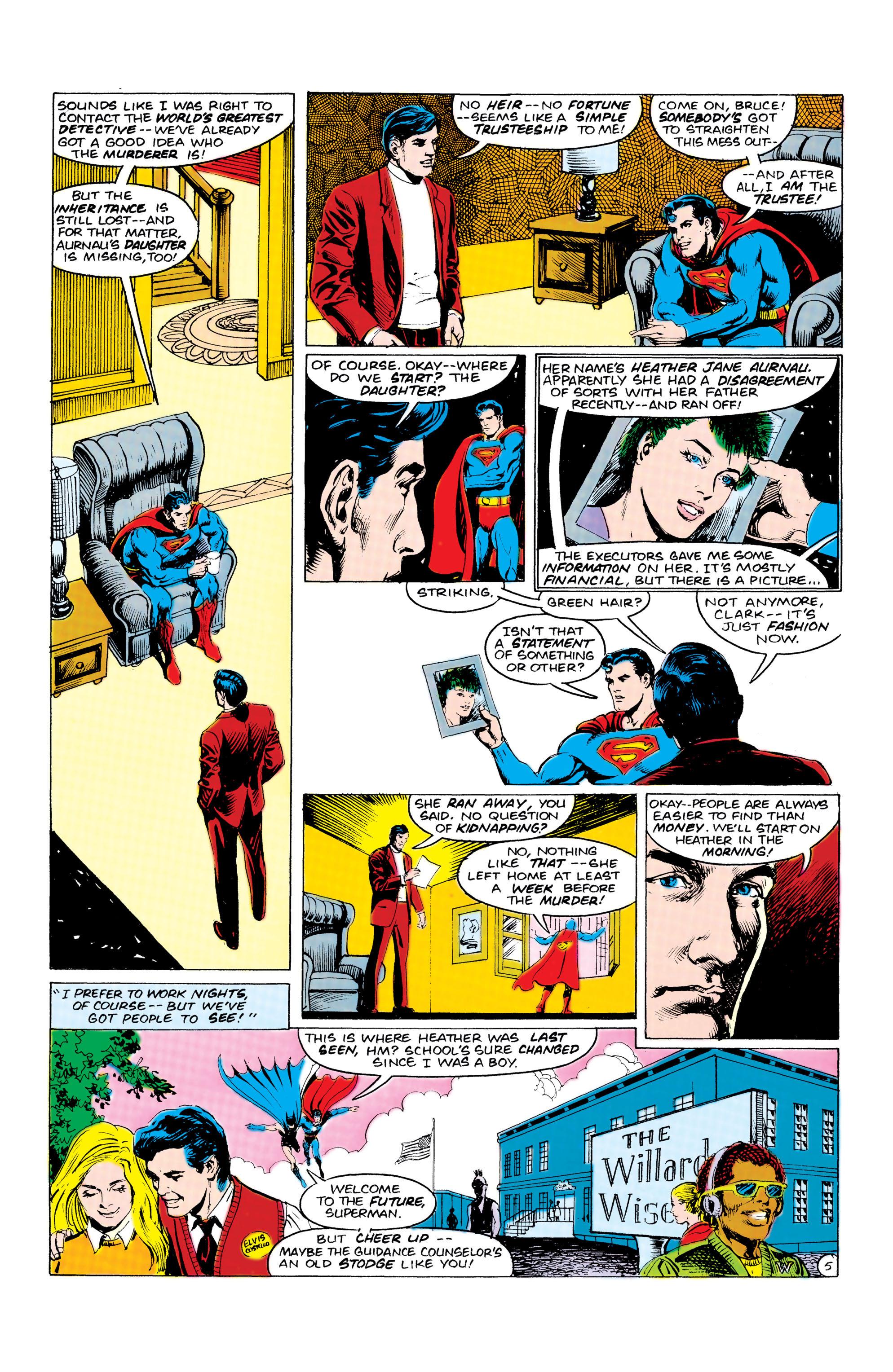 Read online World's Finest Comics comic -  Issue #309 - 6