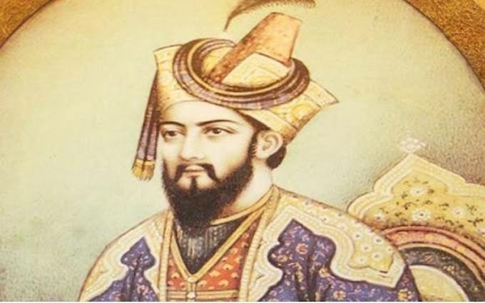 एक पराजित मुगल सुल्तान------!