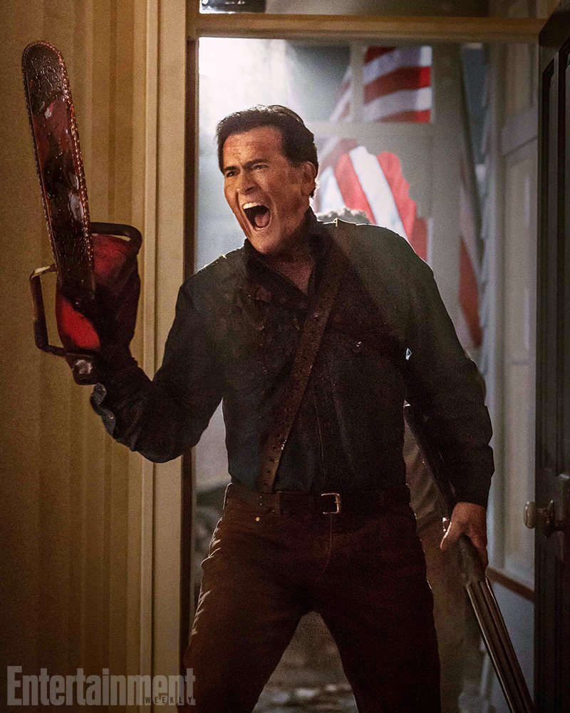 EW fotos  Ash Vs Evil Dead