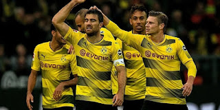 Borussia Dortmund vs Wolfsburg Live Streaming online Today 14-1-2018 Bundesliga