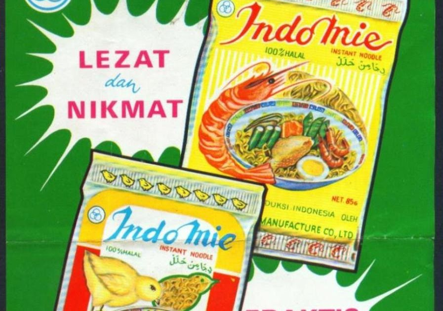 Koleksi Tempo Doeloe Iklan jadul Indomie dari awal th