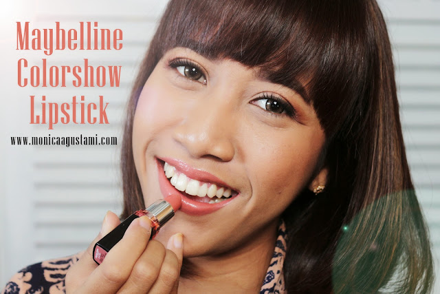 Review Maybelline Colorshow Lipstick
