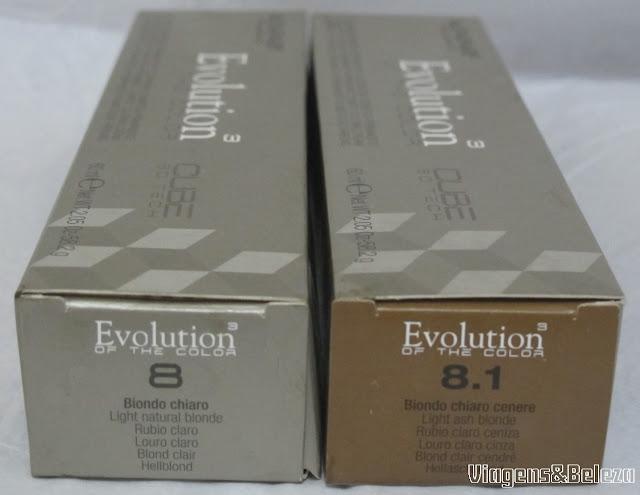 Evolution 8 e Evolution 8.1 Alfaparf