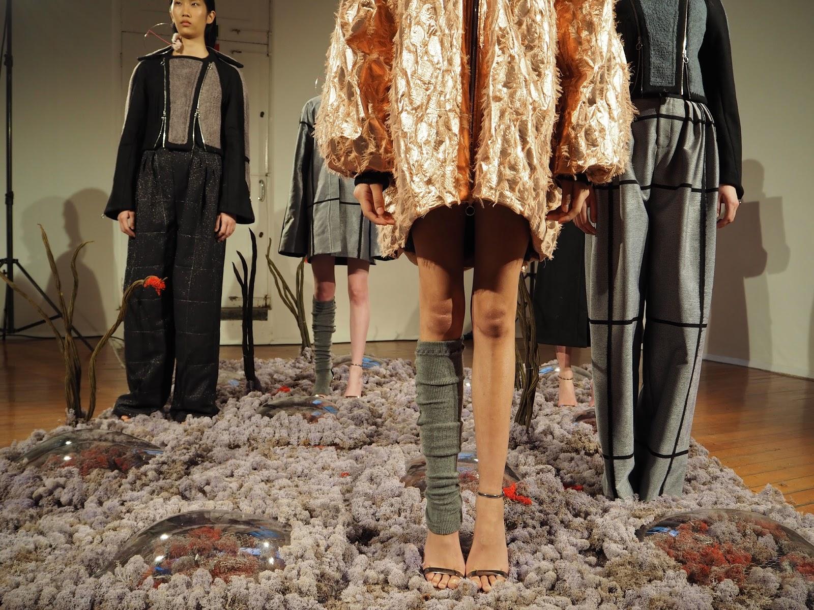 London Fashion Week LFW AW16 Minki Cheng presentation