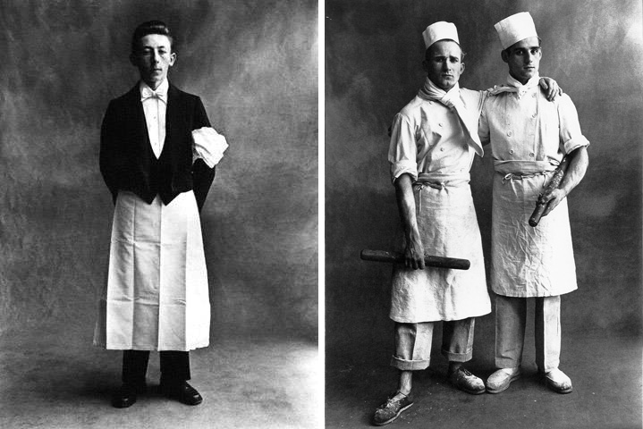 from Irving Penn's Small Trades series (1950)