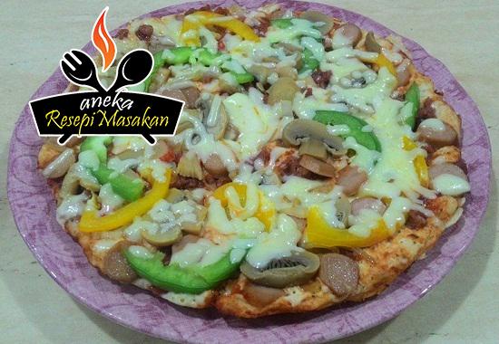 Resepi Pizza Tanpa Oven http://banyakresepi.blogspot.my/