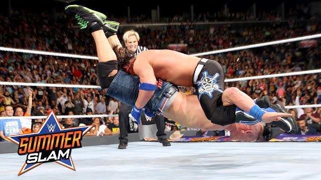 John Cena AJ Styles WWE SummerSlam 2016