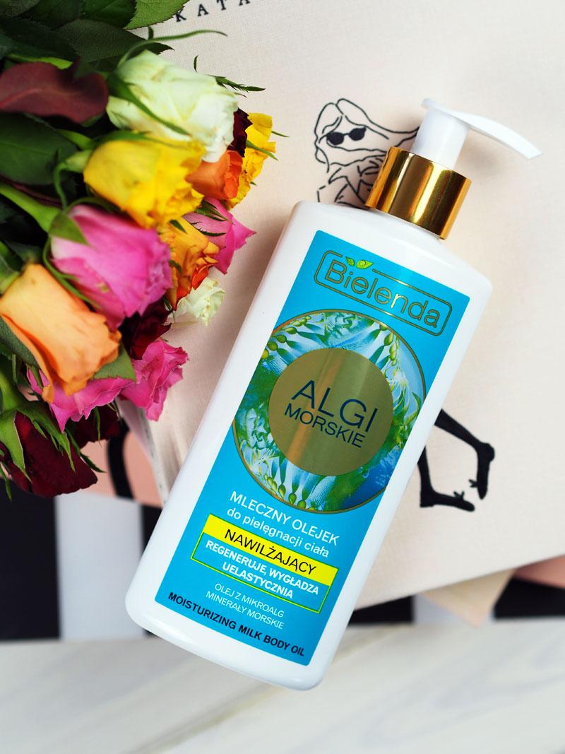 Mleczny olejek do pielęgnacji ciała (algi morskie) - Bielenda