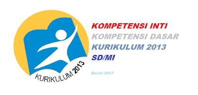 ki dan kd kurikulum 2013 sd/mi revisi