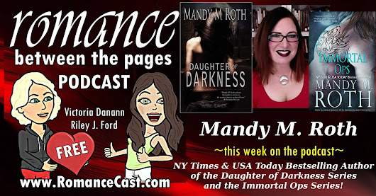 Check out the Romance Between the Pages Podcast