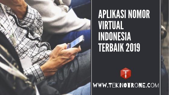 5 Aplikasi Nomor Virtual Indonesia Terbaik Gratis Untuk Verifikasi Akun