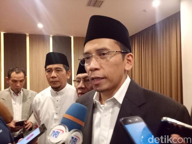 Dipertimbangkan Jadi Cawapres Prabowo, Ini Respons TGB