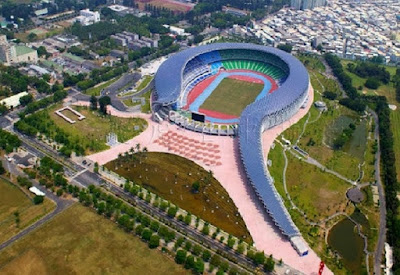Construyen en China un estadio alimentado únicamente por energía solar