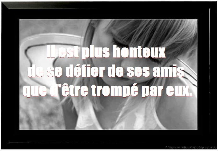 Citation Triste D Amitié Webwinkelbundel