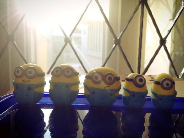 Sherbakes Minions Cake