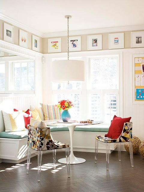 Decor Inspiration - Sunny Breakfast Nook - Cool Chic Style Fashion