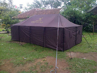 jual tenda regu, tenda regu murah, harga tenda regu, produsen tenda regu, komando TNI