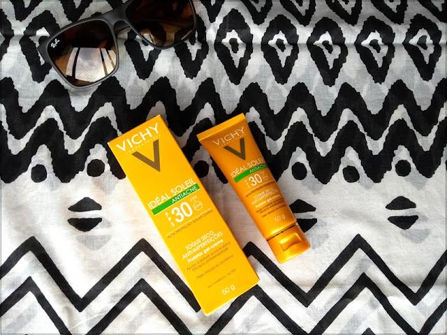 Resenha: Protetor Solar Idéal Soleil Antiacne FPS30 - Vichy