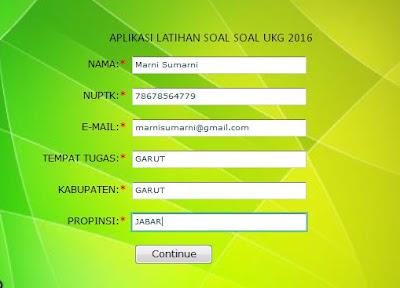 Aplikasi Latihan Soal Soal UKG 3 Versi 2016