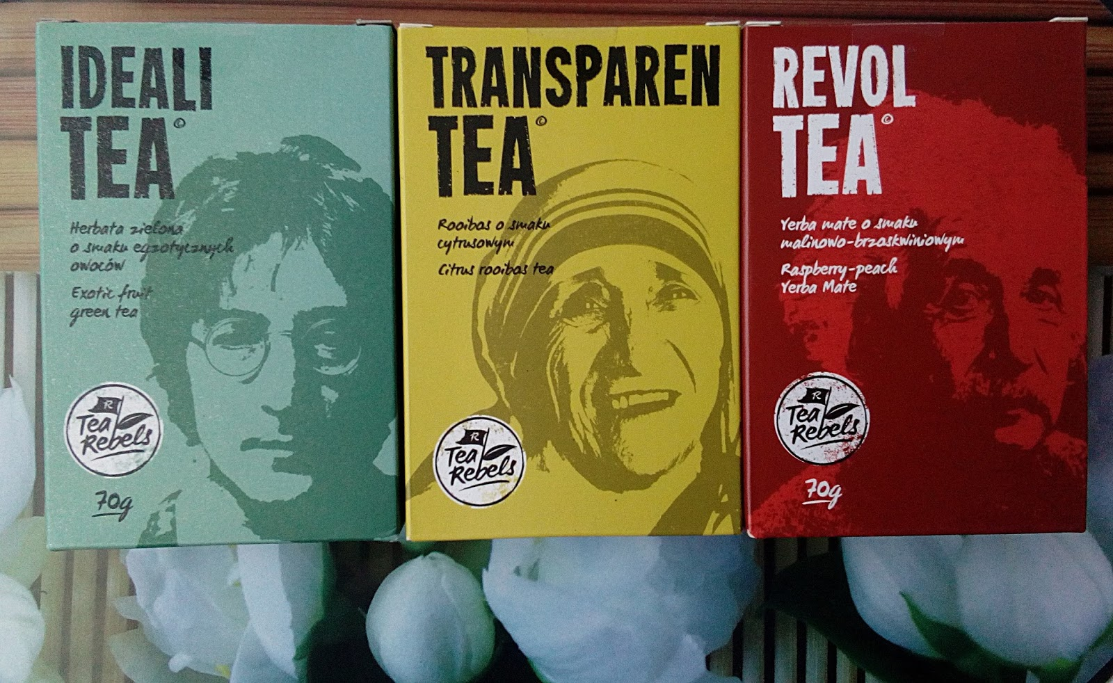 TEA REBELS trzy aromatyczne herbatki :)