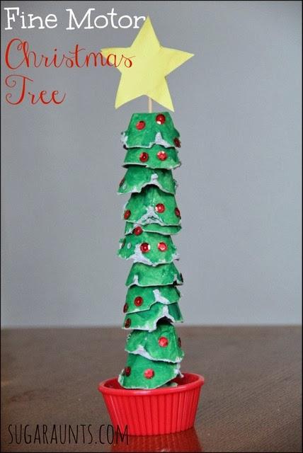 Christmas Tree Crafts Kindergarten : The ot toolbox fine motor s