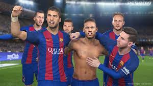 pes 2017 iso psp Barcelona