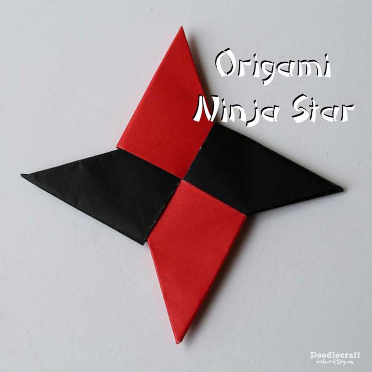 How To Make a Paper Transforming Ninja Star - Origami - YouTube | 735x735