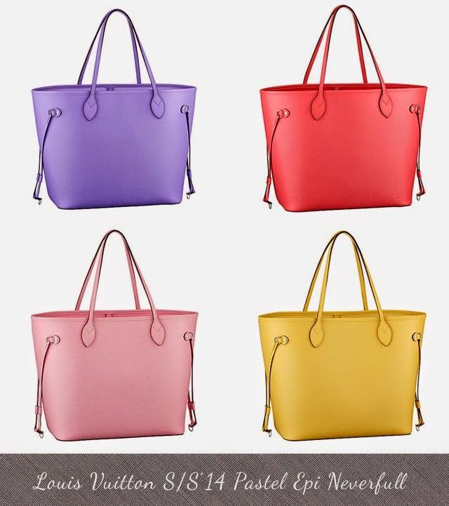 12903b53e8ac Louis Vuitton Pastel EPI Collection SS 14