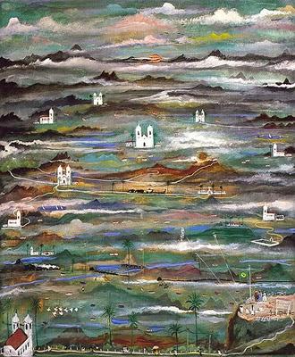 Fantasia de Minas - Guignard e suas pinturas ~ Pintor de Minas Gerais