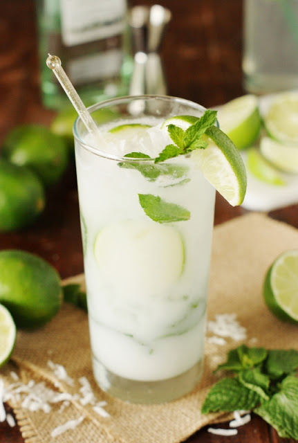 Coconut Mojito Cocktail Image