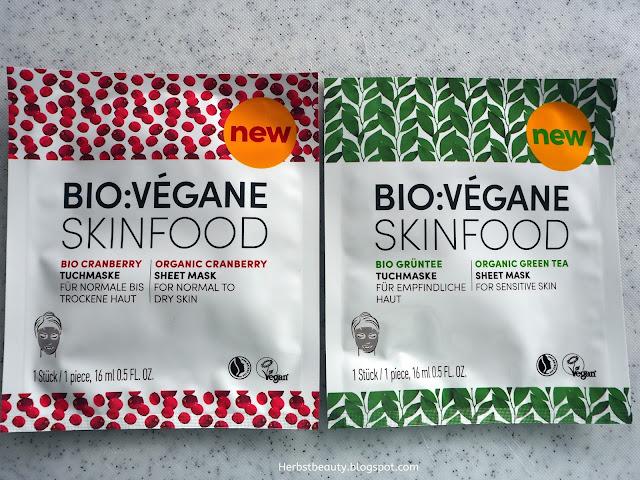 Bio:Végane Skinfood Tuchmaske