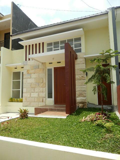 Rumah minimalis di kota malang