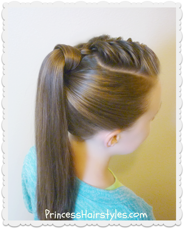 The Best Hair Wrapped Ponytail Tutorial