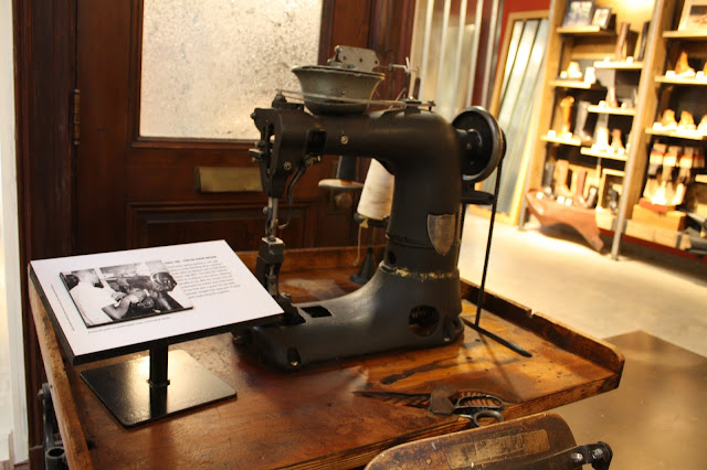Original Red Wing Boot sewing machine.