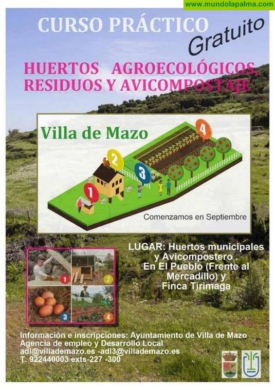 El Ayuntamiento de Villa de Mazo pone en marcha un curso para abordar la reducción de los residuos orgánicos domiciliarios