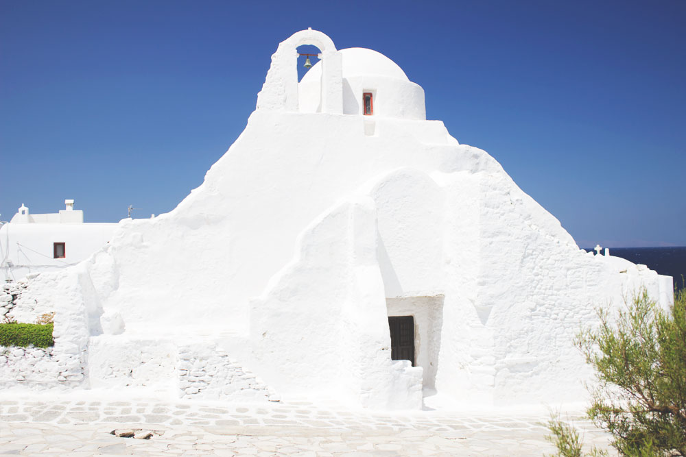 Paraportiani Church | Travel architecture photography | Mykonos, Greece