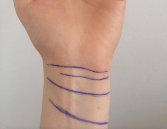 If You have 3 or 4 lines on your wrist, you are a really special person! 4