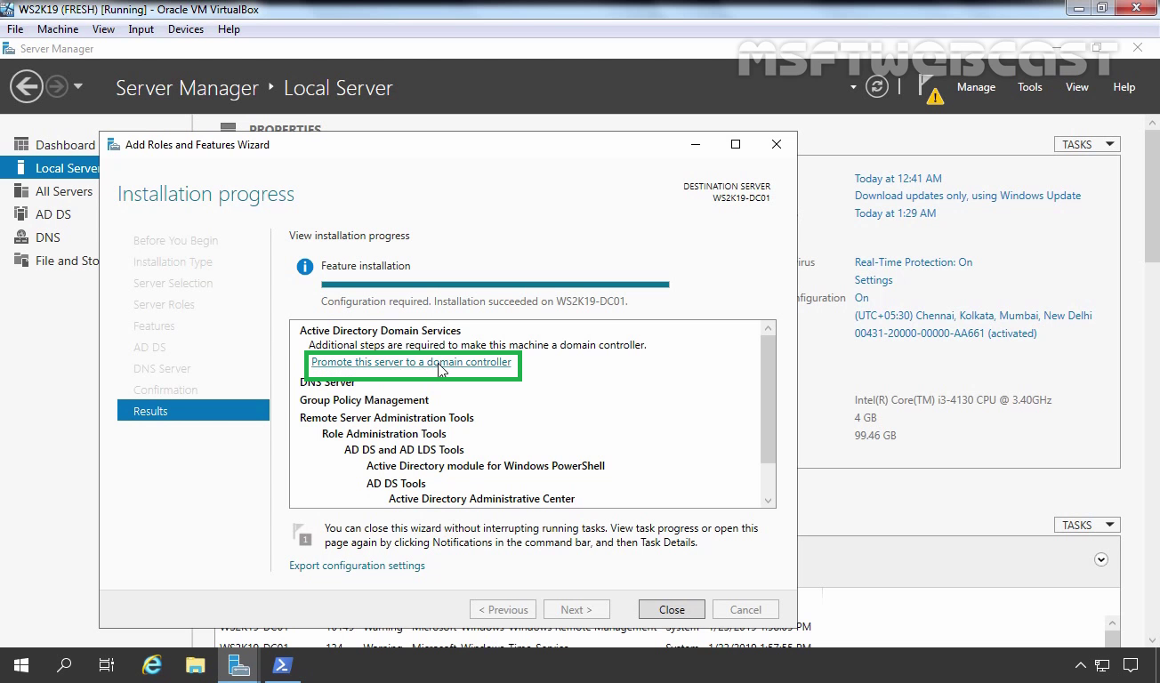Step By Step Guide: How to Setup Active Directory Domain