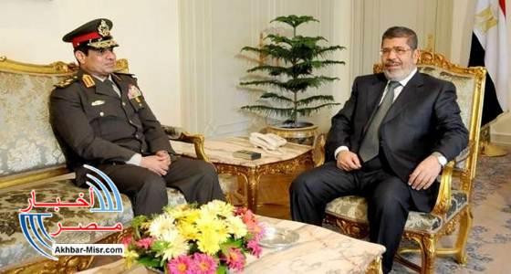 السيسي و مرسي