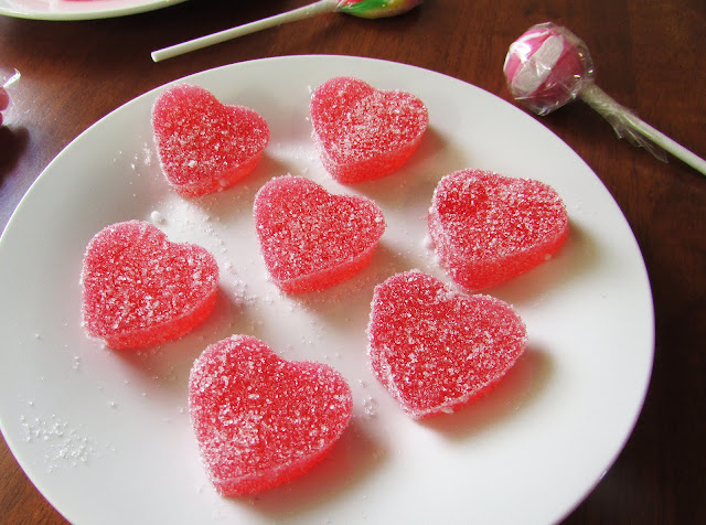 Homemade Heart Shaped Gumdrops by The Small Adventurer