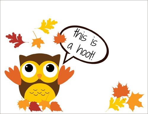 My Owl Barn Freebie Thanksgiving Cards
