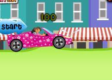 imagem Jogos da Dora: Corrida de carros