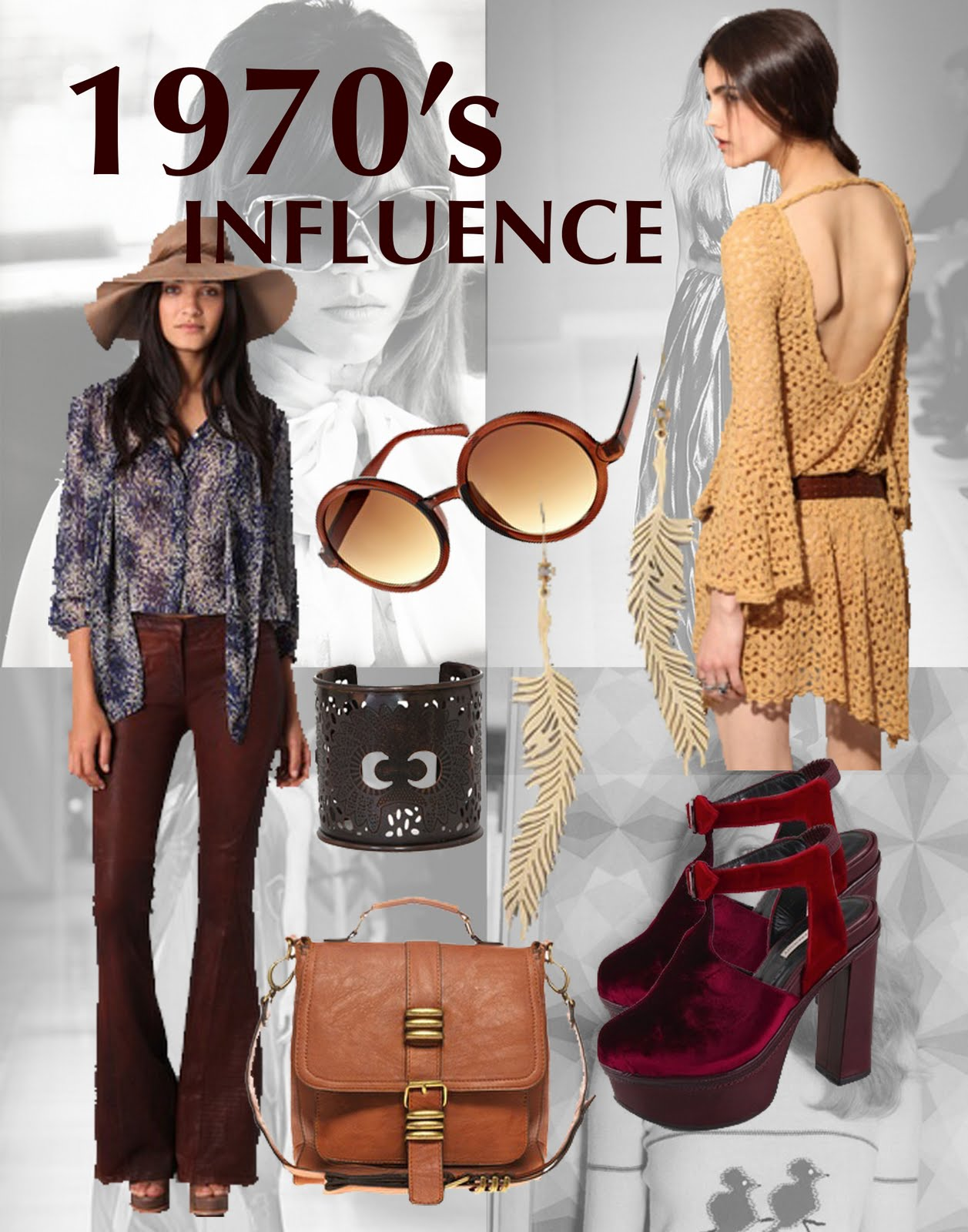 At The Edge Of Fashion Style Inspiration 1970 S Influence