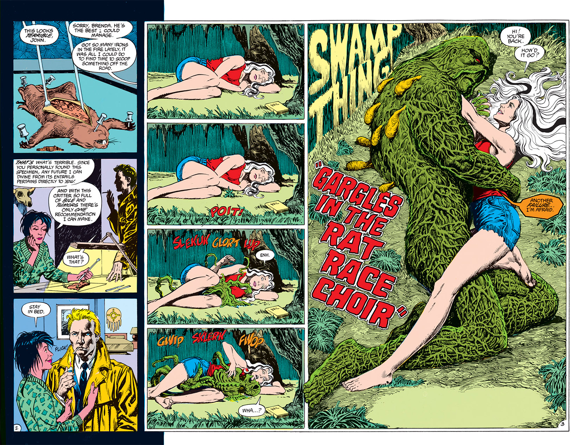 Swamp Thing (1982) Issue #72 #80 - English 3