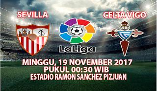 Prediksi Sevilla vs Celta Vigo 19 November 2017