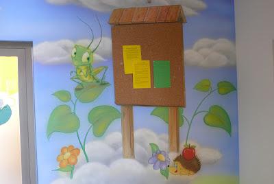 Aranżacja poddasza w pokoju dziecięcym, malowanie ściany, Bydgoszcz