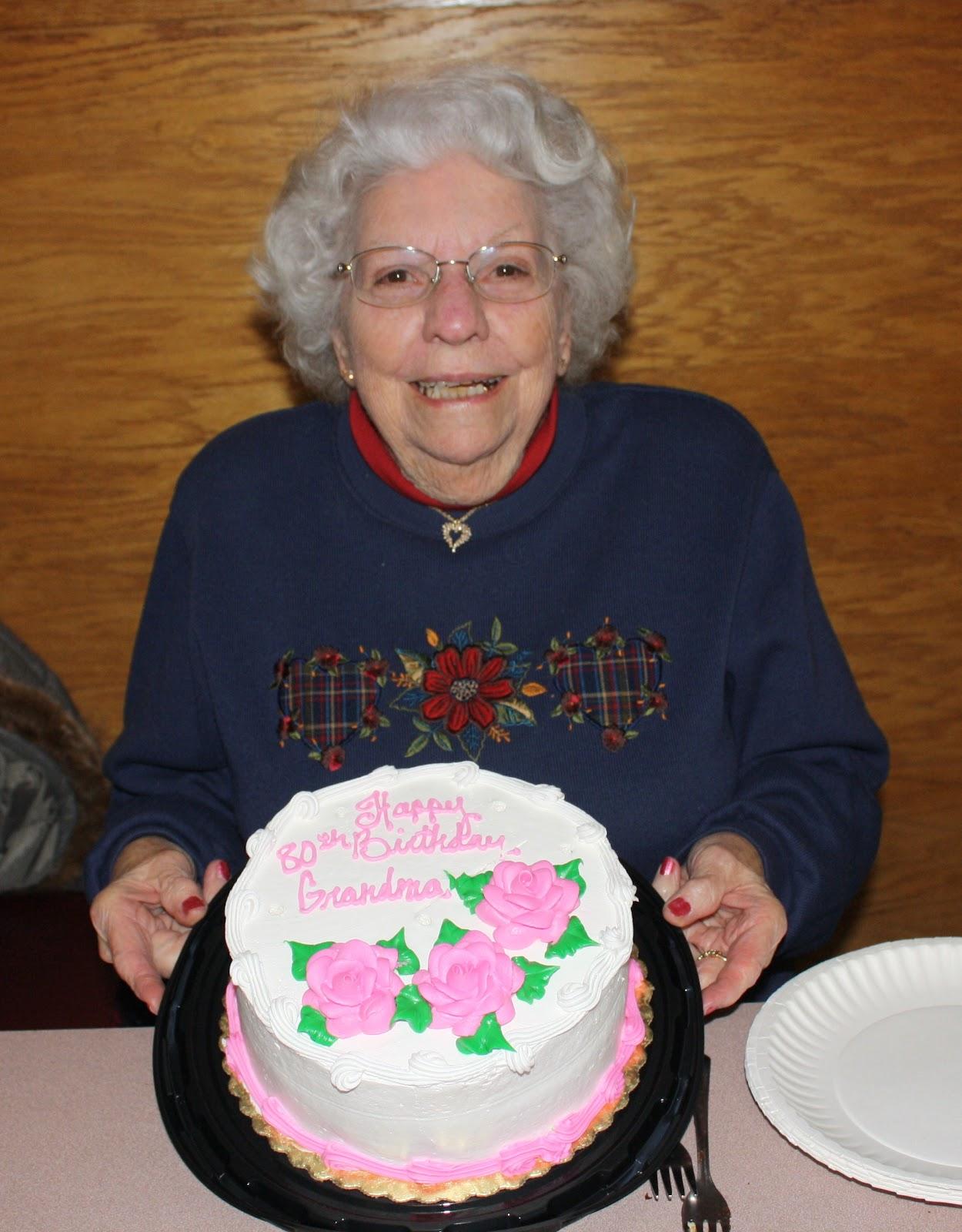The Crooked Pear Happy Birthday Grandma