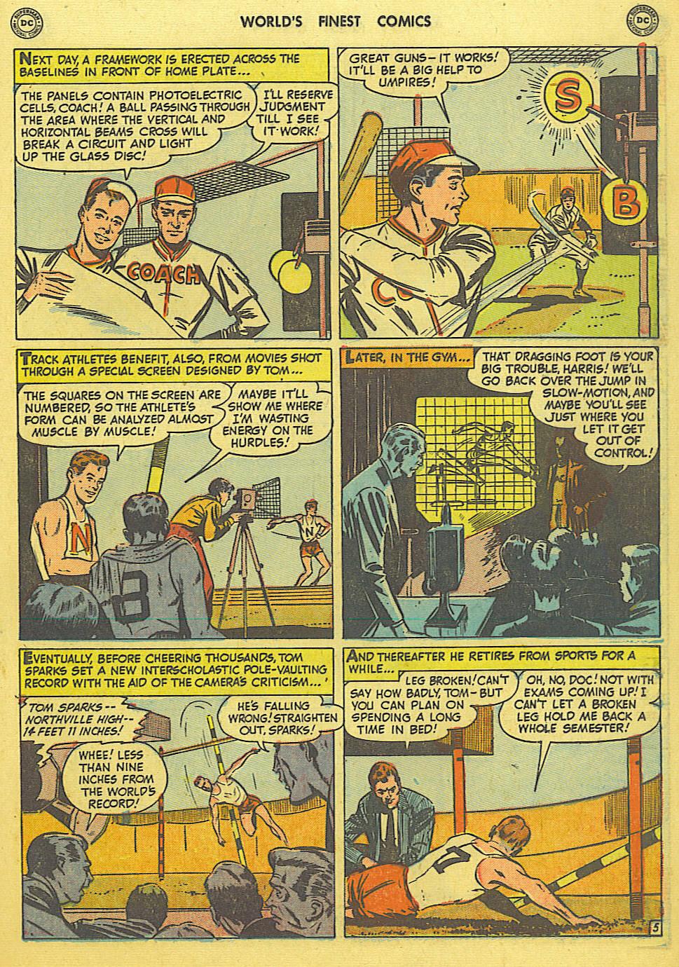 Read online World's Finest Comics comic -  Issue #49 - 34