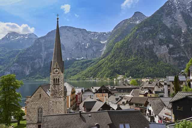 Hallstatt Αυστρία